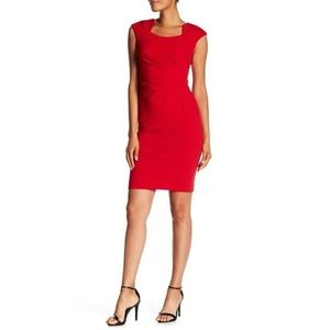 NWT❣️Calvin Klein Women's Horseshoe Neck Dress♥️